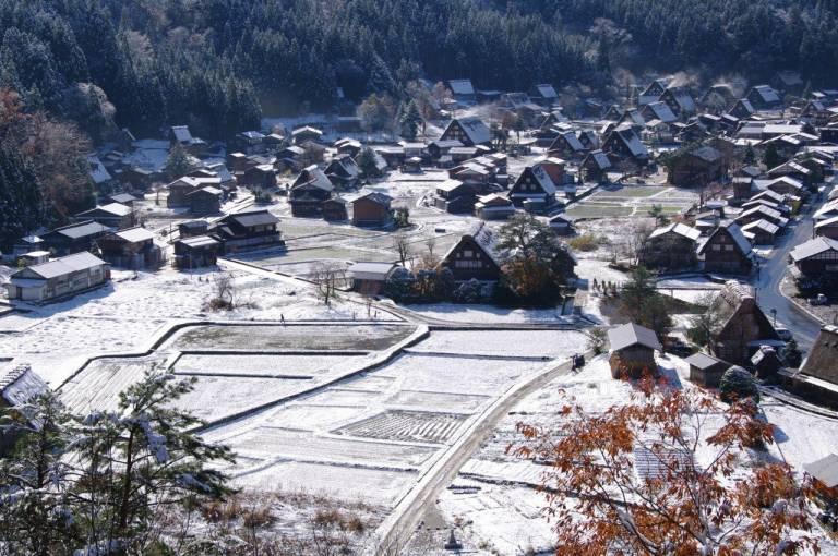 Shirakawa Dorf
