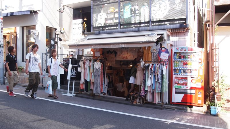 Harajuku Geschäft