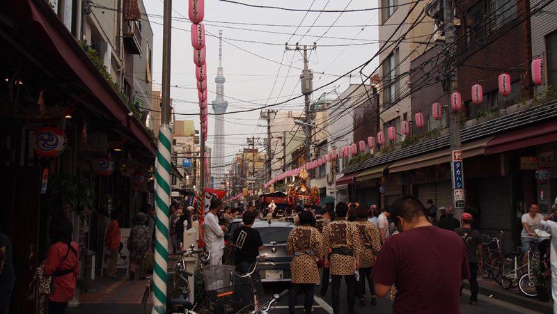 Skytree Sanja Matsuri