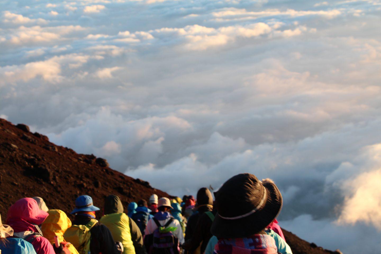 Fuji-san Aufstieg