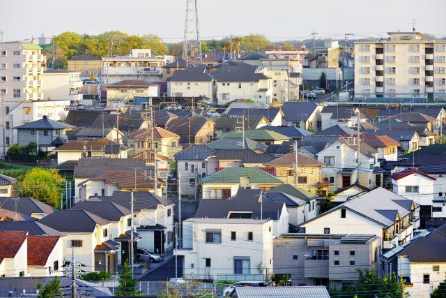 Häuser in Tokyo