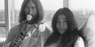 Yoko Ono und John Lennon