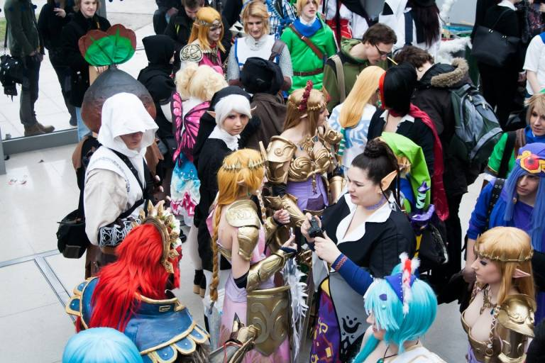 Buchmesse Cosplay