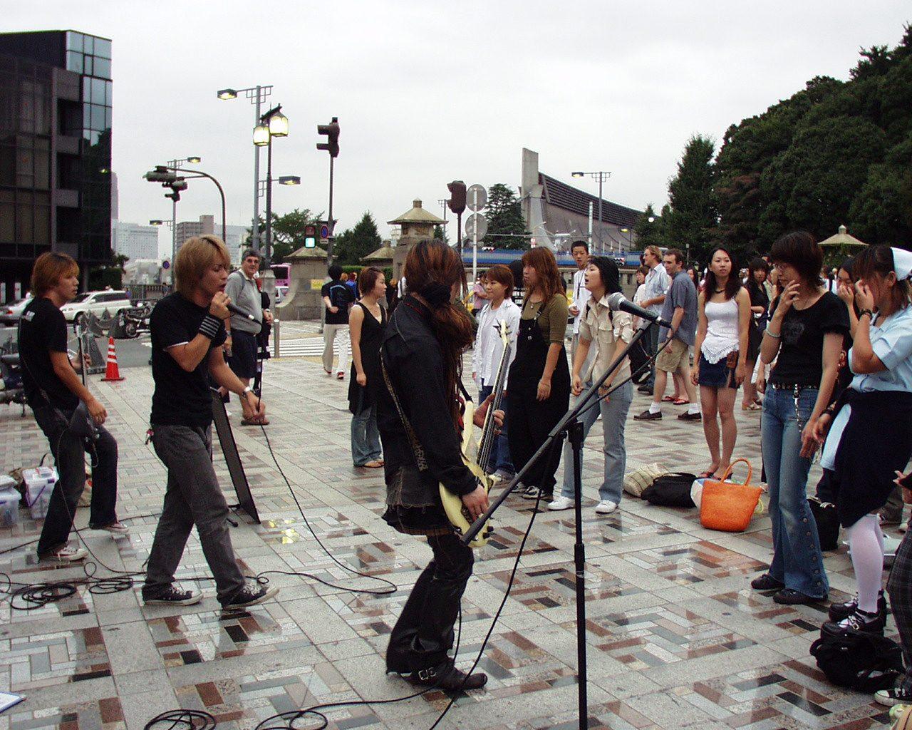 Straßenkonzert Harajuku