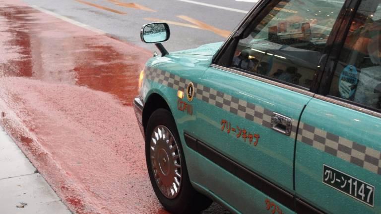 Japanisches Taxi