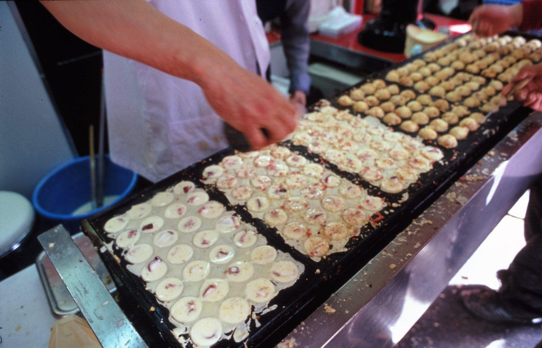 Zubereitung Takoyaki