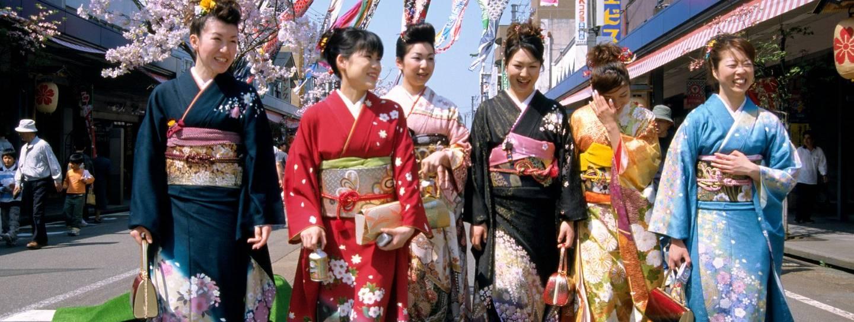 Großes Mädchen Kurzer Kerl Japanisch