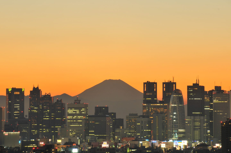 Fujisan Tokyo Skyline