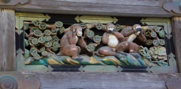 Affen von Nikkō