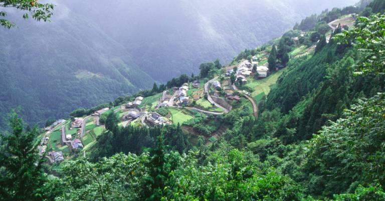 Berge Japan