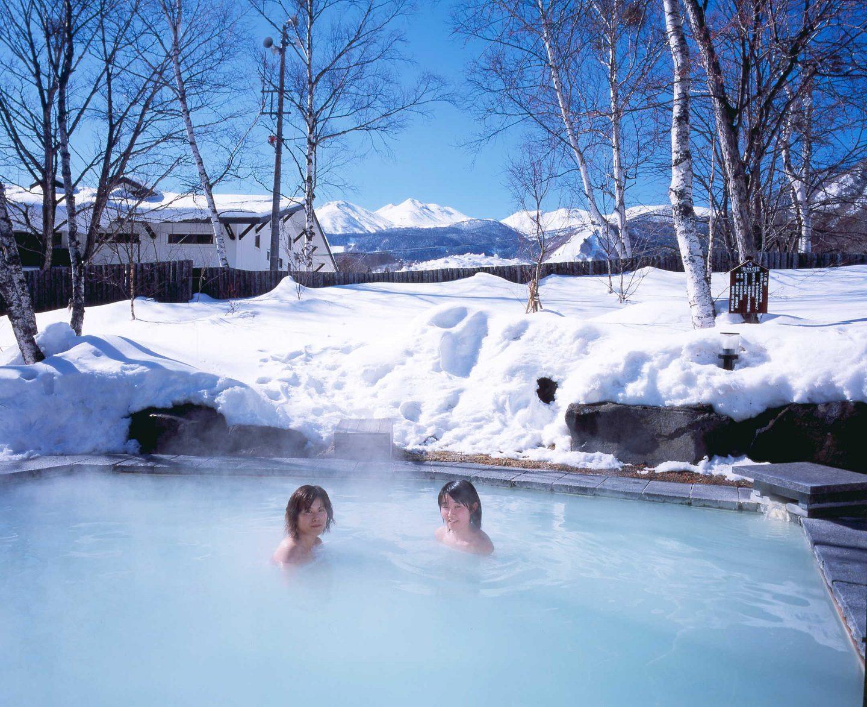 Onsen Winter