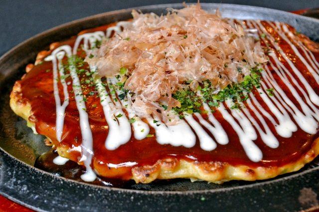 Katsuobushi Okonomiyaki