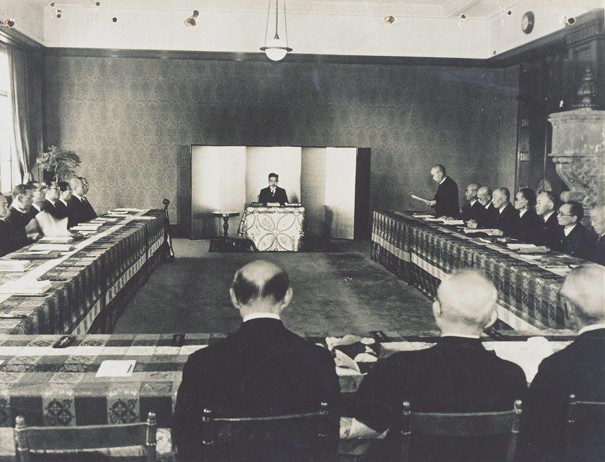 Hirohito Verfassung Japan 1946