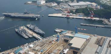 Yokosuka Hafen