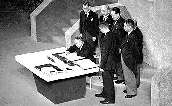 Yoshida Friedensvertrag
