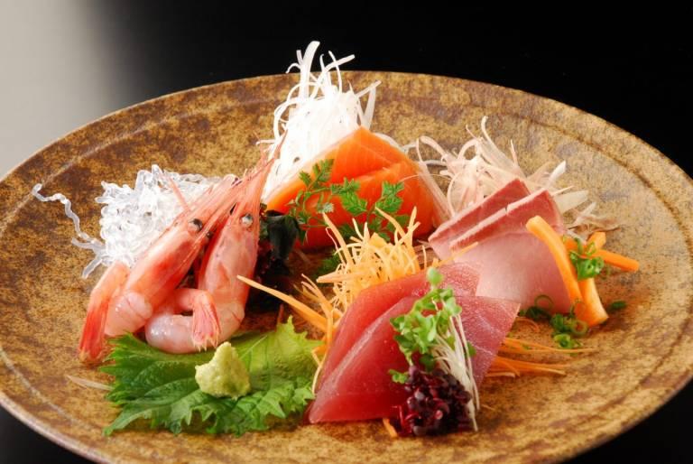 Meeresfrüchte Japan