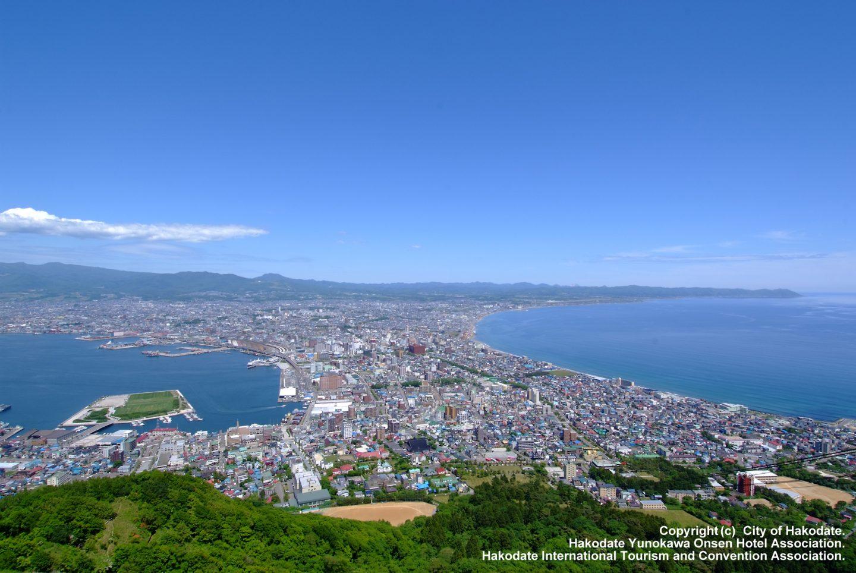 Aussicht Hakodate Berg