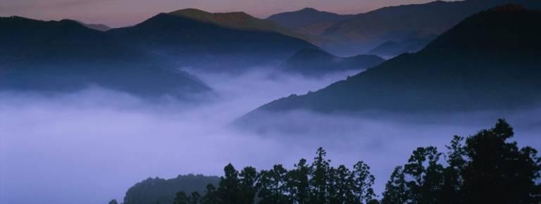 Wakayama mountains