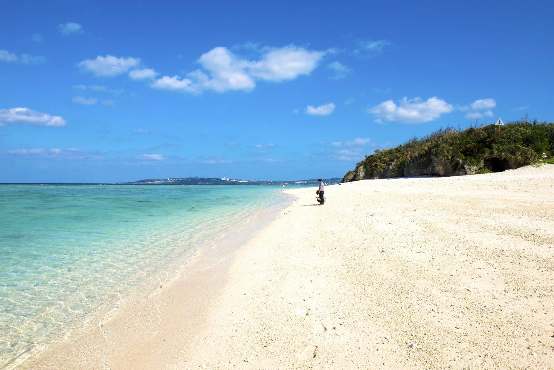 Sandstrand Okinawa