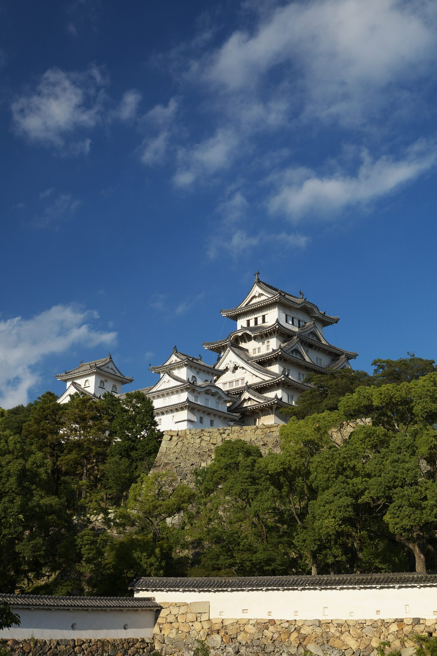 Himeji-jo Vor Restaurierung