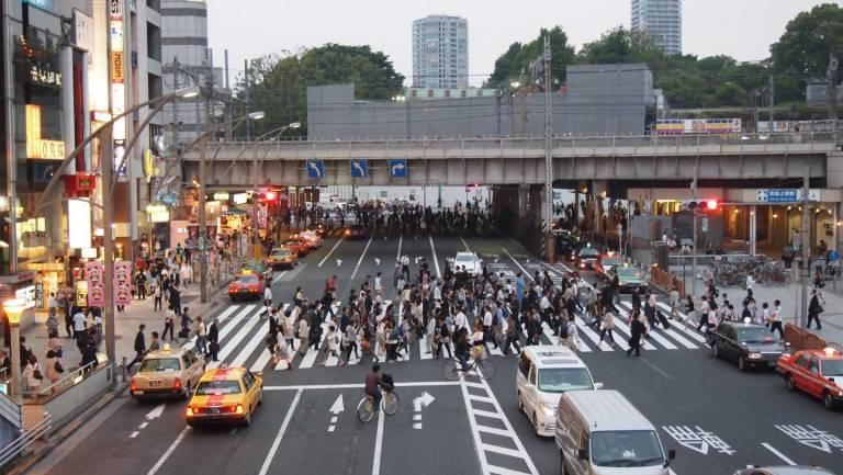 Verhalten Japan