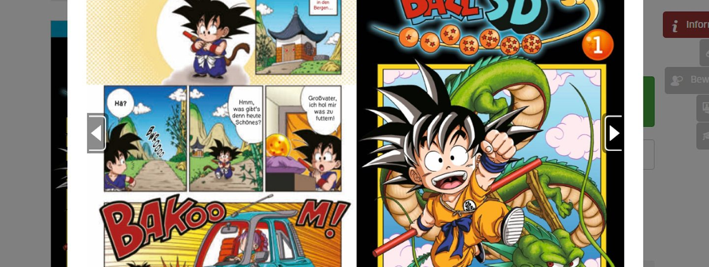 Dragon Ball SD Leseprobe Carlsen