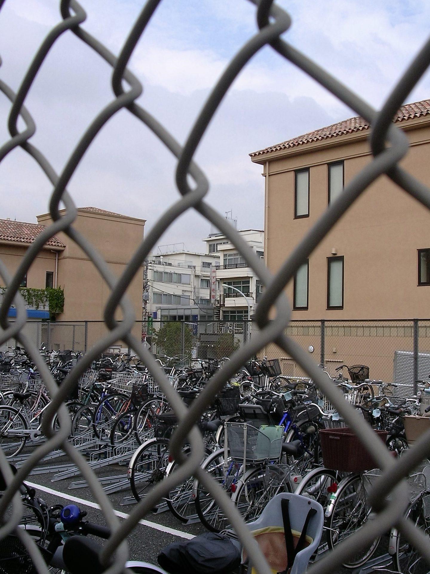 Fahrrad Stellplatz Tokyo