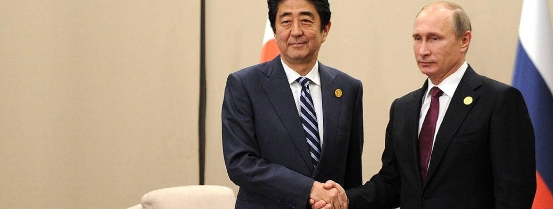 Putin Abe Friedensvertrag