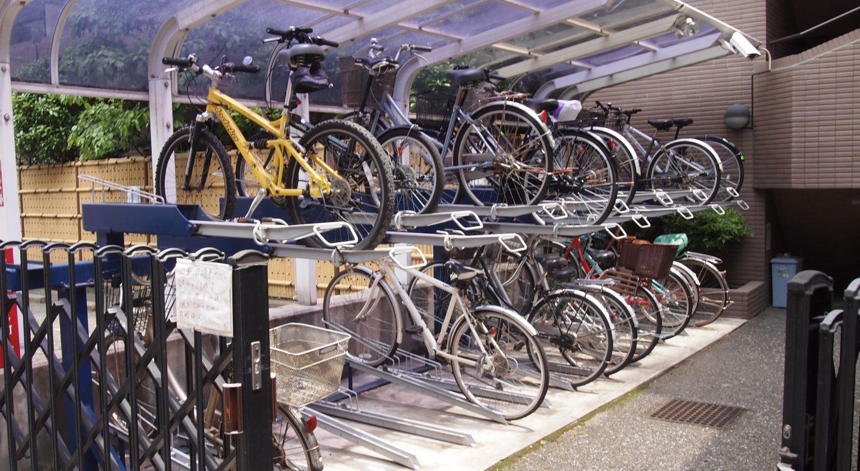 Stellplatz Fahrräder Tokyo