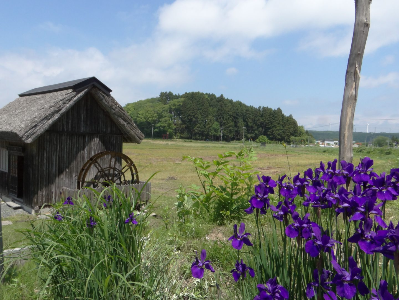 Wassermühle japan