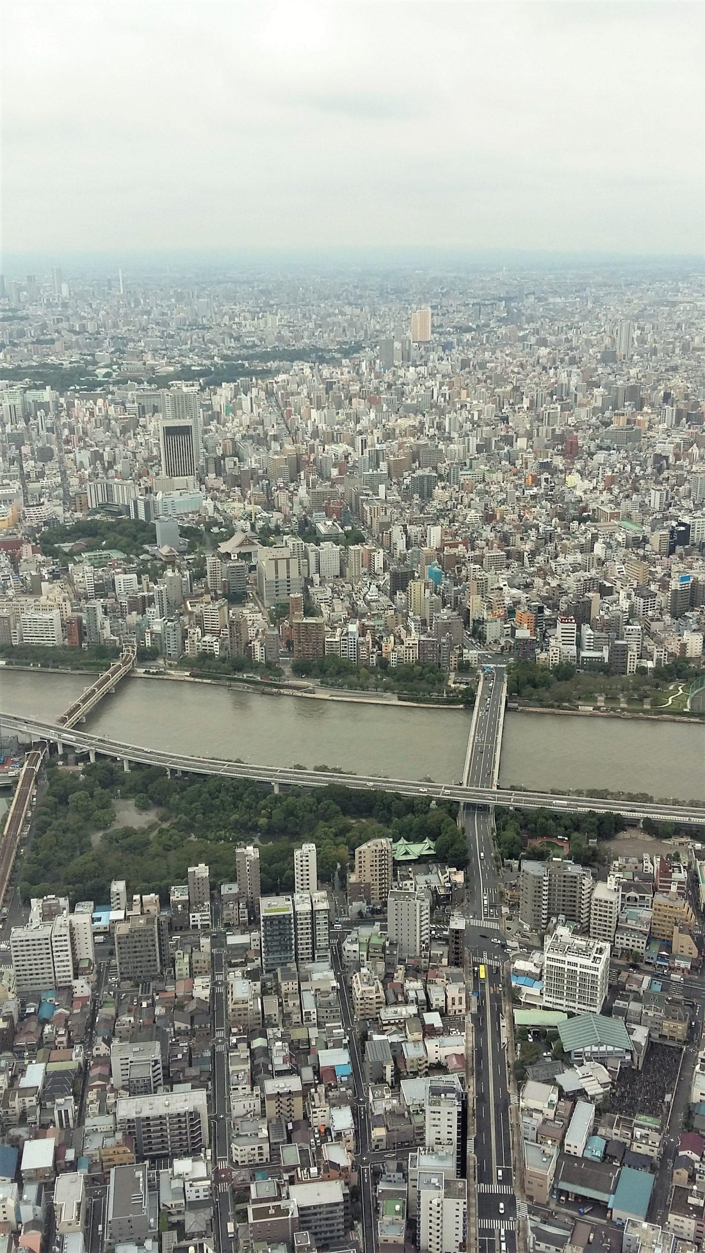 Aussicht Skytree