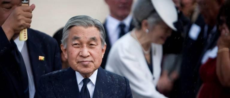 Kaiser Japan Abdankung