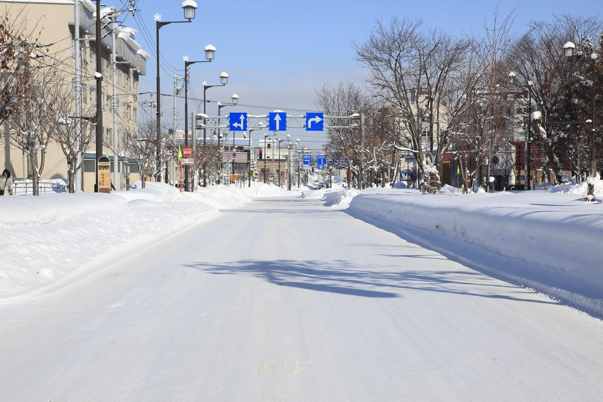 schnee in japan
