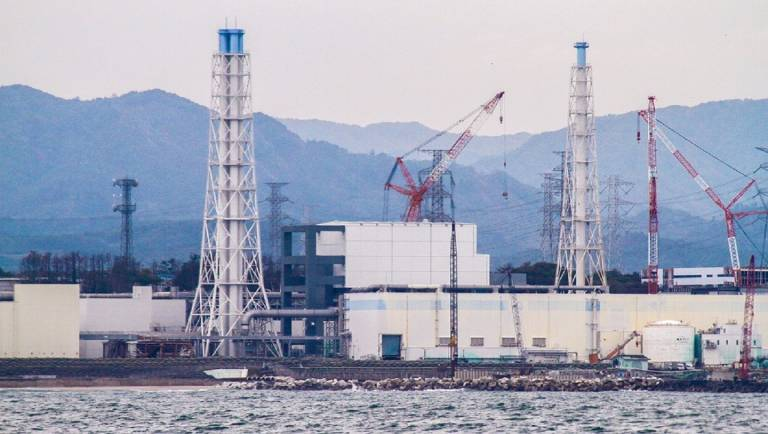 Fukushima Havarie ausgetretenes Mateiral