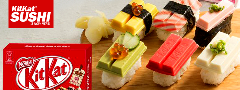 Kitkat Sushi Schokolade Riegel