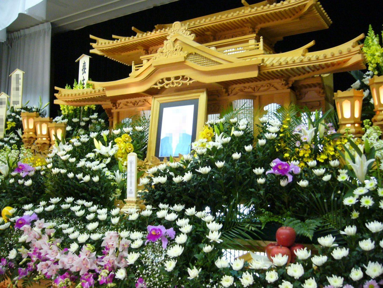 buddhistische gedenkfeier