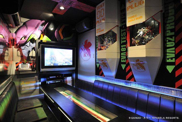 Karaokeraum mit Anime Design