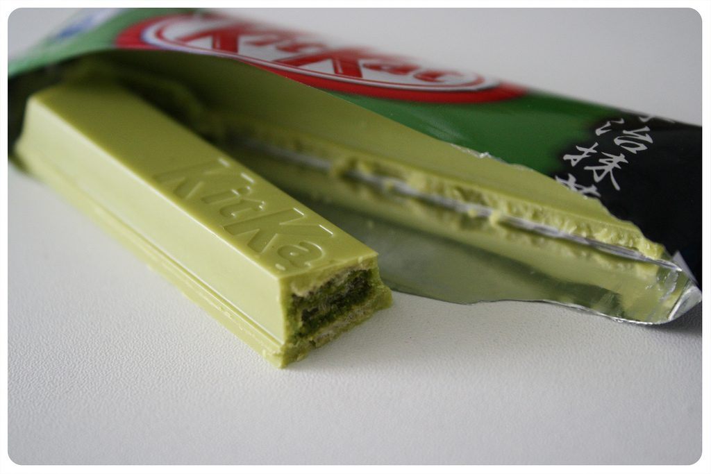 Grüntee Kitkat Matcha