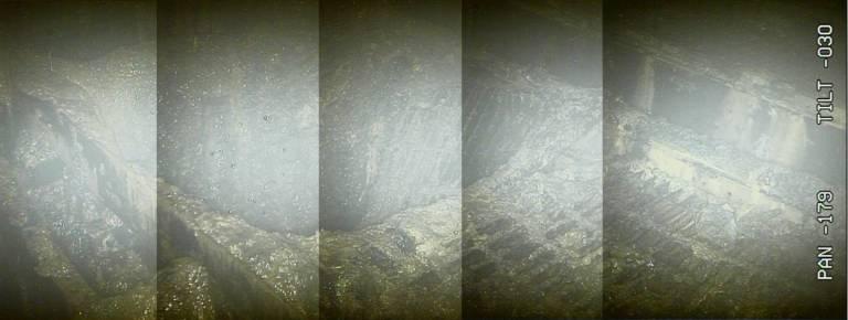 Loch Druckbehälter Fukushima AKW