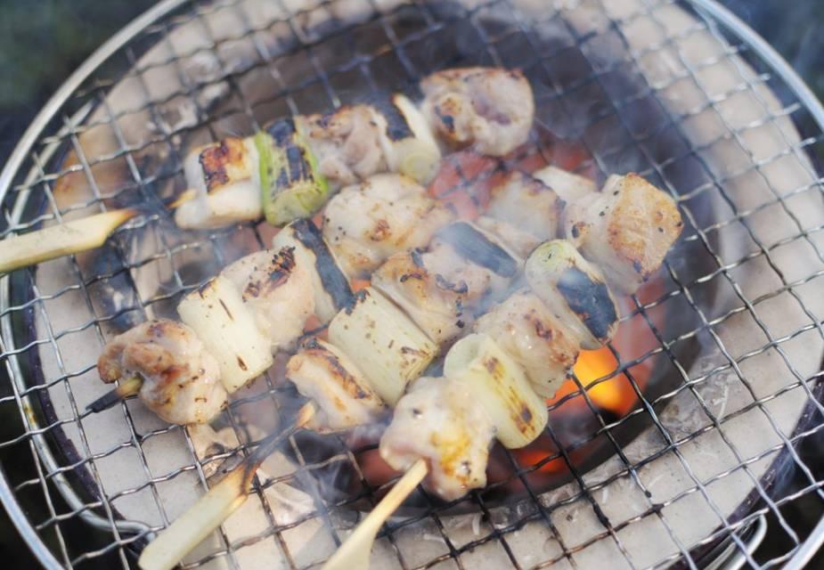 Yakitori Japanisch Kochen