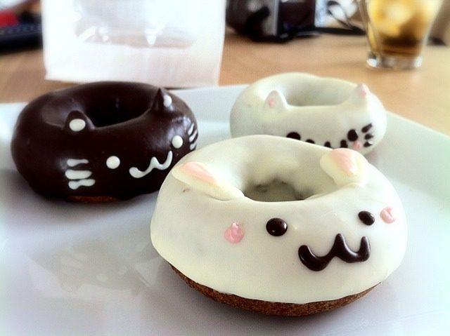 Katzen Donut Kawaii Japan