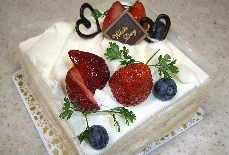 White Day Japan Kuchen