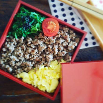 Soboro Bentō Rezept Japanisch kochen