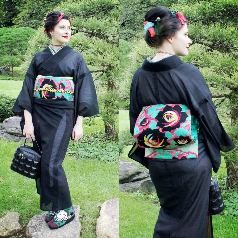 Anji Salz Kimono