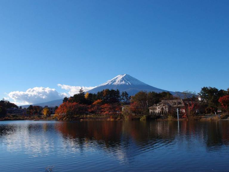 Fuji am Kawaguchiko
