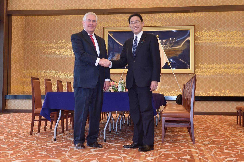 UN Abrüstung Japan Hiroshima Nagasaki Atomwaffen Tillerson Kishida