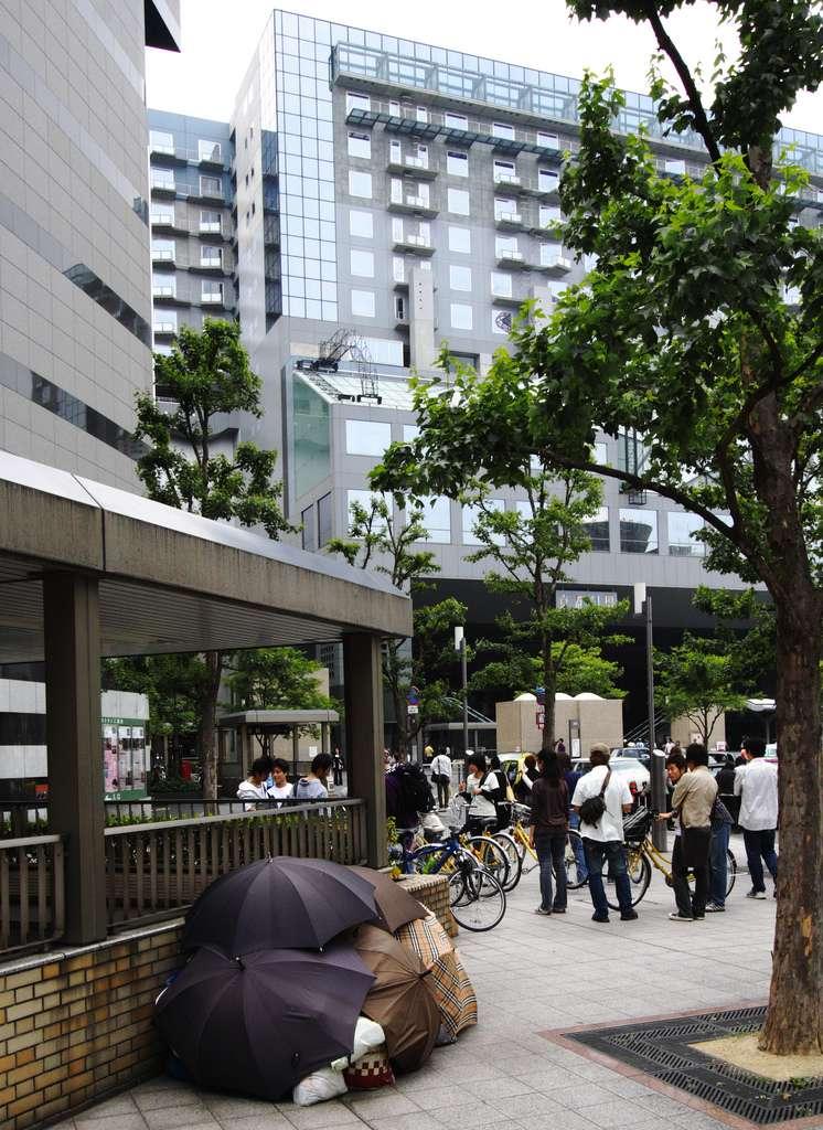 Armut Japan Obdachlos