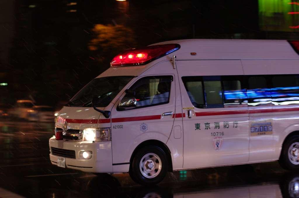 Krankenwagen Japan Hilfe Notfall