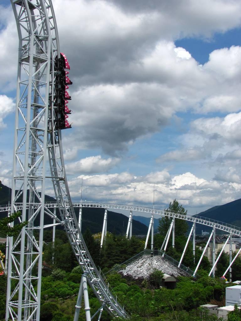 Fuji-Q Highland Fuji-san Vergnügungspark Achterbahn Japan
