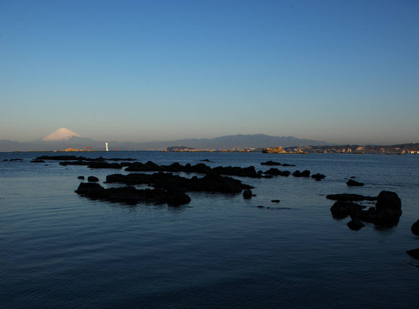 Hayama Fuji-san Fuji Mount Fujiyama